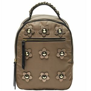 Madden Girl Nylon Flower Girl Backpack Purse Trend